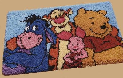 DISNEY WINNIE THE POOH & FRIENDS LATCH HOOK RUG PATTERNS ~ ON CD ROM | eBay