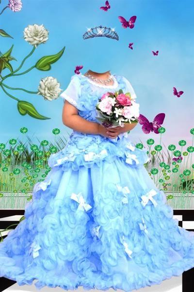 Костюм для детей цветок для фотошопа