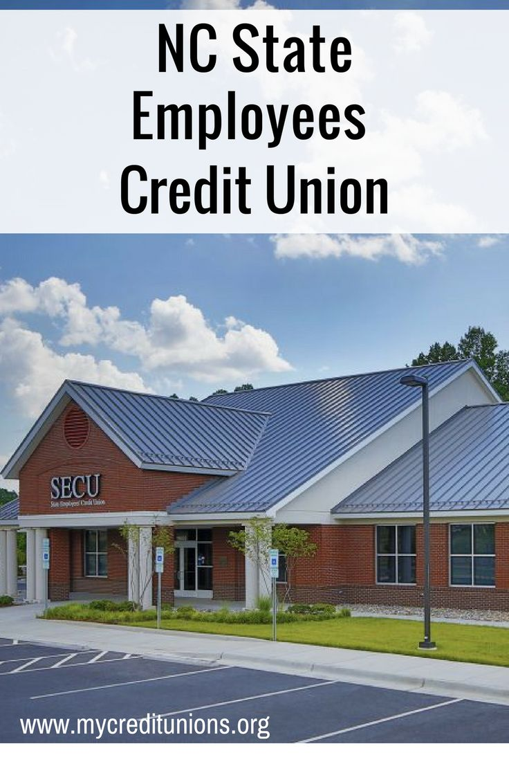 State Employees Credit Union NC Website home page, Union