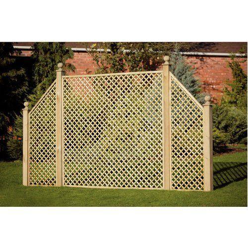 Diamond Square Panel Fence Panels Fencing Gardens