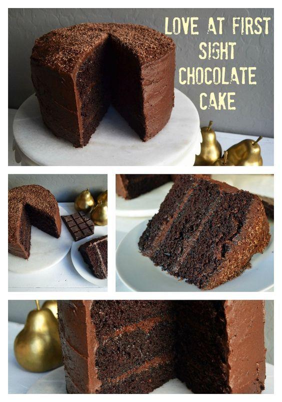 Seriously Moist Chocolate Cake