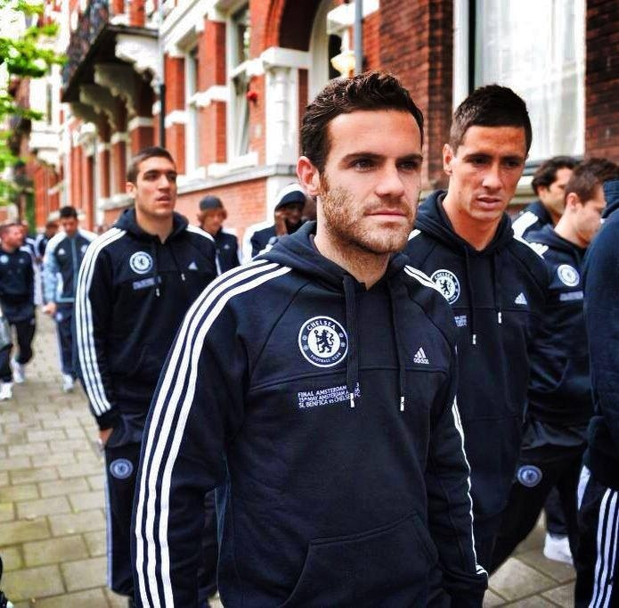 Walking in Amsterdam before the final