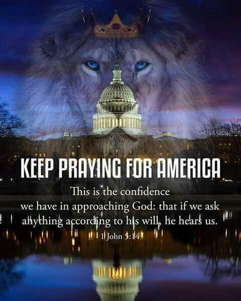 Keep praying for America