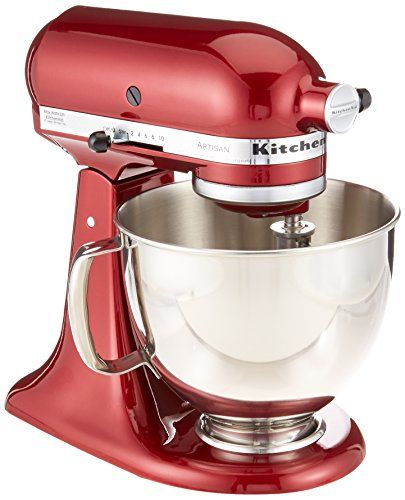 KitchenAid RRK150GD Artisan Series Stand Mixer, 5 quart, Grenadine (Certified Refurbished) – KITCHEN APPLIANCES