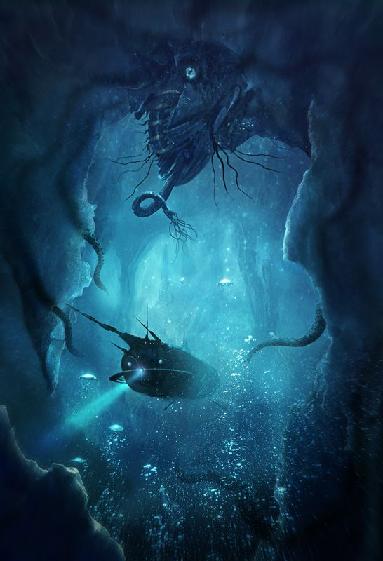 «20 000 lieues sous les mers» by Puechberty Olivier (olllly on 3dvf) #nautilus