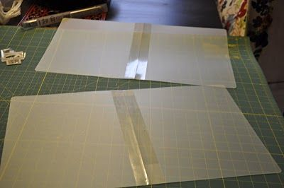 DIY how to make a large stencil on a thirfty budget. Thank her for sharing her great idea with us.