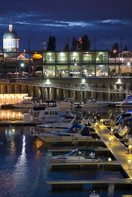 Docks, Montréal, Québec, Canada