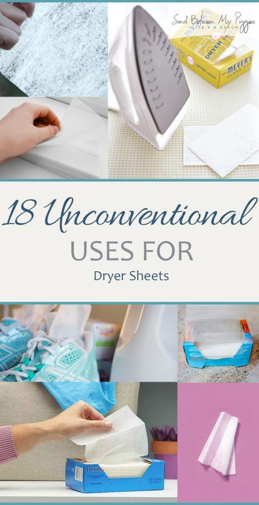 18 Unconventional Uses for Dryer Sheets