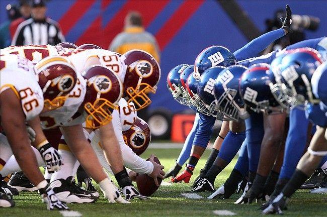 Washington Redskins vs New York Giants Live Stream