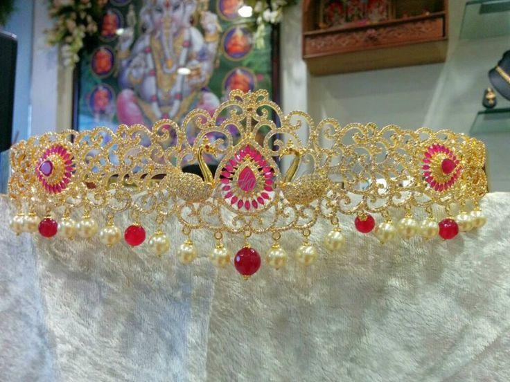 Exclusive Designer Vaddanam | Buy Online Jewellery | Elegant Fashion Wear Price;13000 #exclusive #designer #ruby #cz #vaddanam