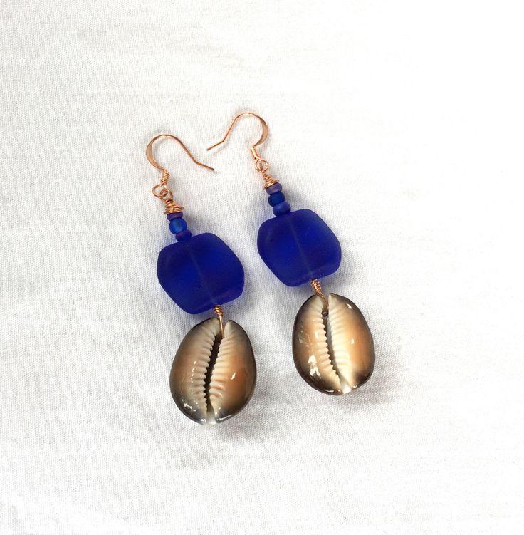 Just in: Beach Statement Earrings, Sea Shell Earrings, Beach Earrings, Navy Blue Earrings, Sea Glass Earrings for Mermaids https://www.etsy.com/listing/399230587/beach-statement-earrings-sea-shell?utm_campaign=crowdfire&utm_content=crowdfire&utm_medium=social&utm_source=pinterest
