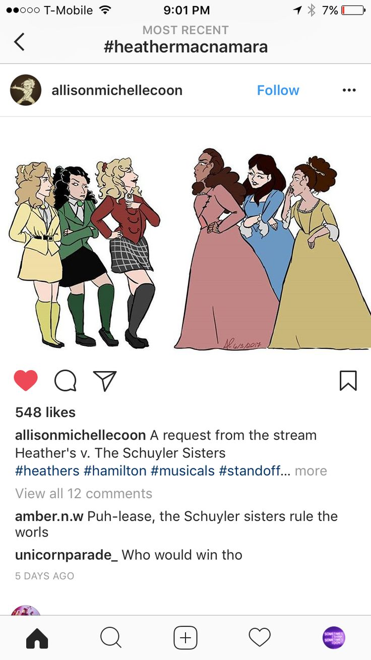 My Schuyler gals would kick the heather's a***!! Angelica could whip them all alone.