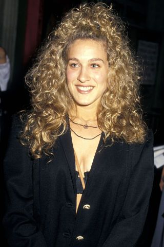 Sarah Jessica Parker, late '80s and '90s. A look back at the permanent waves and curls that dominated classic movies and concert stages in the '70s, '80s and '90s here.