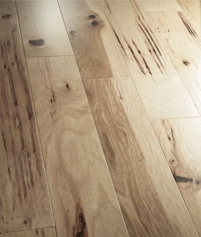 Hickory Flooring...would LOVE to replace all carpet with this beautiful hickory wood flooring.