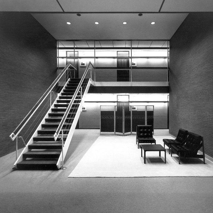 Egon Eiermann, Lobby, 1965-69. Bonn