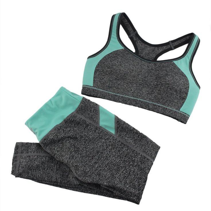 Women Sport Yoga Sets for Running Gym