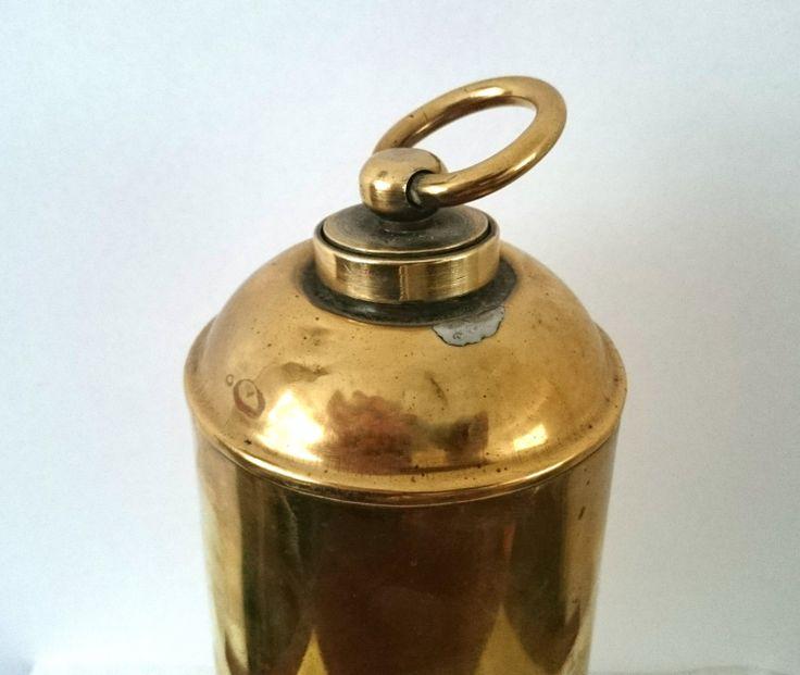 Mooie Antieke Vintage Geel Koperen / Messing Kruik / door RVHills, €24,99