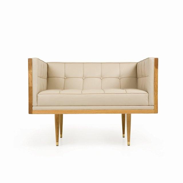 Box Armchair - Oak - ARMCHAIR - SEATING