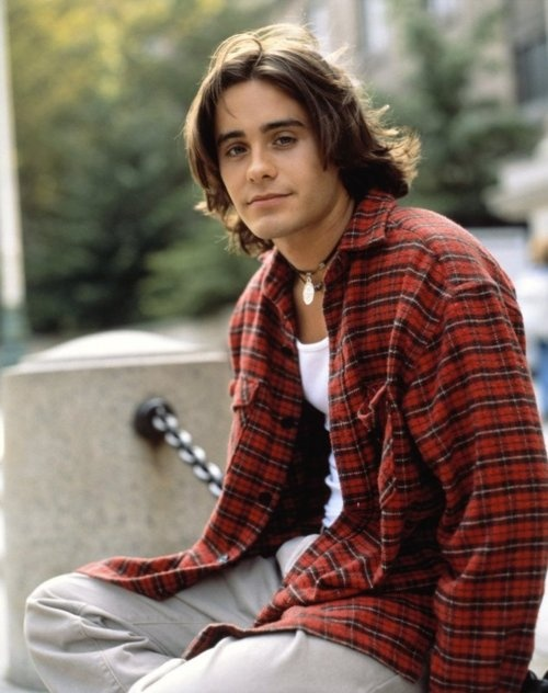 "Jared Leto played ""Jordan"" on ""My So Called Life."" I loved that show!!! Now the singer for the group ""30 seconds to Mars."" He has been in other movies too, but will always be high school crush ""Jordan"" to me.: Jaredleto, Jordans, Jared Leto, My Life, Jordan'S, 90S, Jordancatalano"