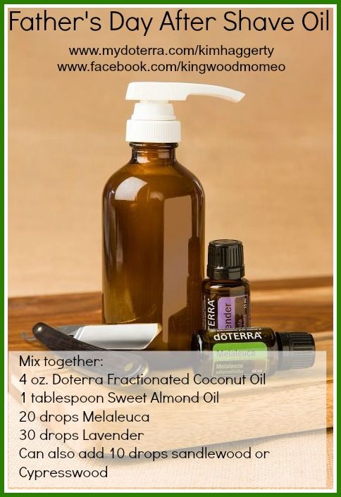 how to make aftershave with essential oils