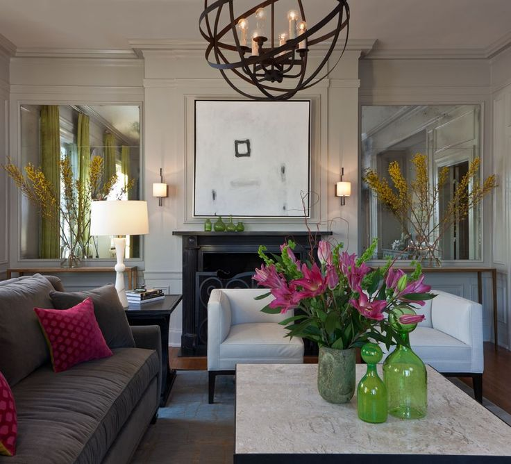 Sitting Room - Contemporary - Living room - Images by Beckwith Interiors | Wayfair