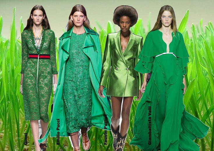 Color trends Spring 2016 - Green Flash / Divatszínek 2016 tavasz - Élénkzöld