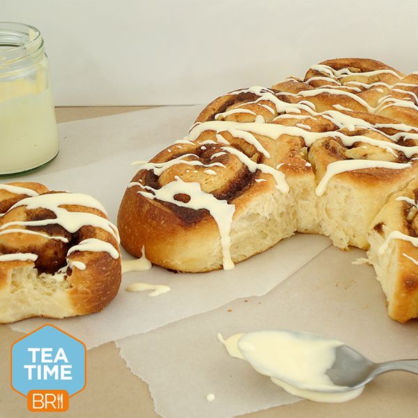 Fresh cinnamon buns straight out of the oven will have you rethinking your carb diet!