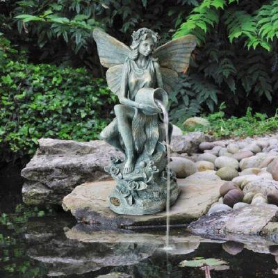 Fairy Pond Fountain | Honeysuckle Fairy Pond Spitter                                                                                                                                                     More