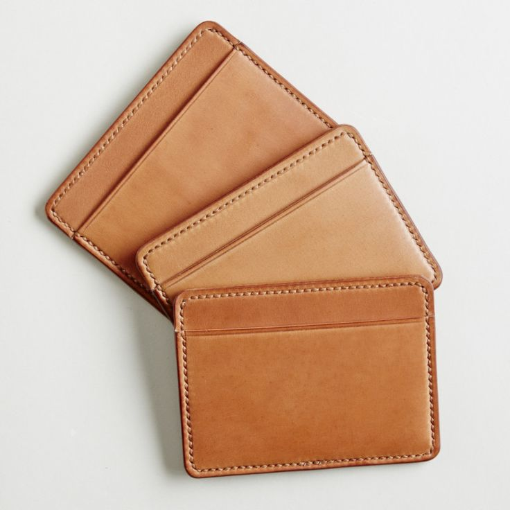 Three Pocket Wallet Cordovan
