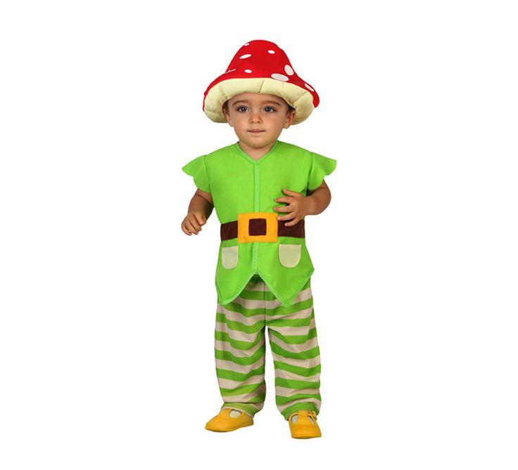 Disfraz de Duende verde para niñas de 0 a 6 meses | Disfrazzes | Tienda de disfraces online