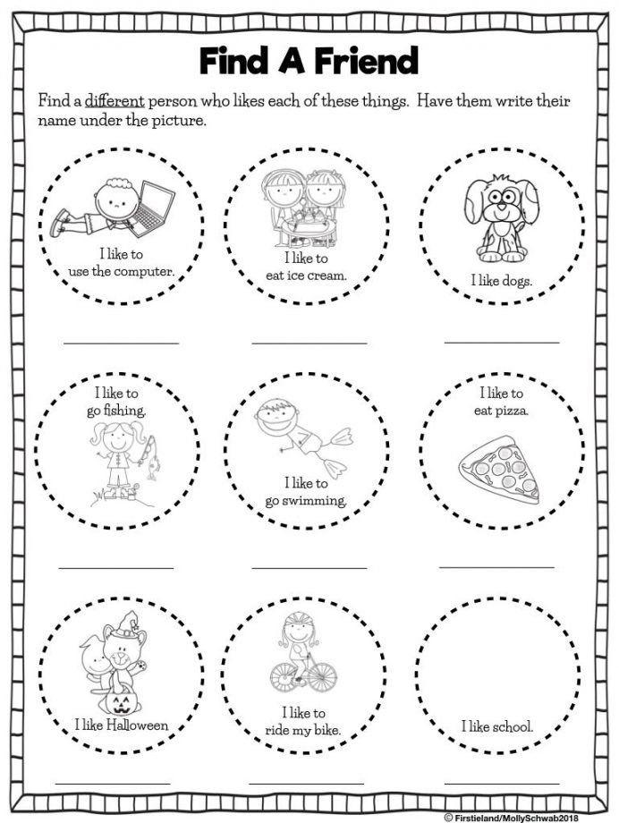 Making Friends Worksheets Kindergarten Friendship Worksheets Middle Best Printable Frie In 2020 Friendship Activities Friend Activities Friendship Activities Preschool