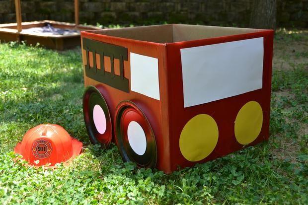 firetruck for kiddos