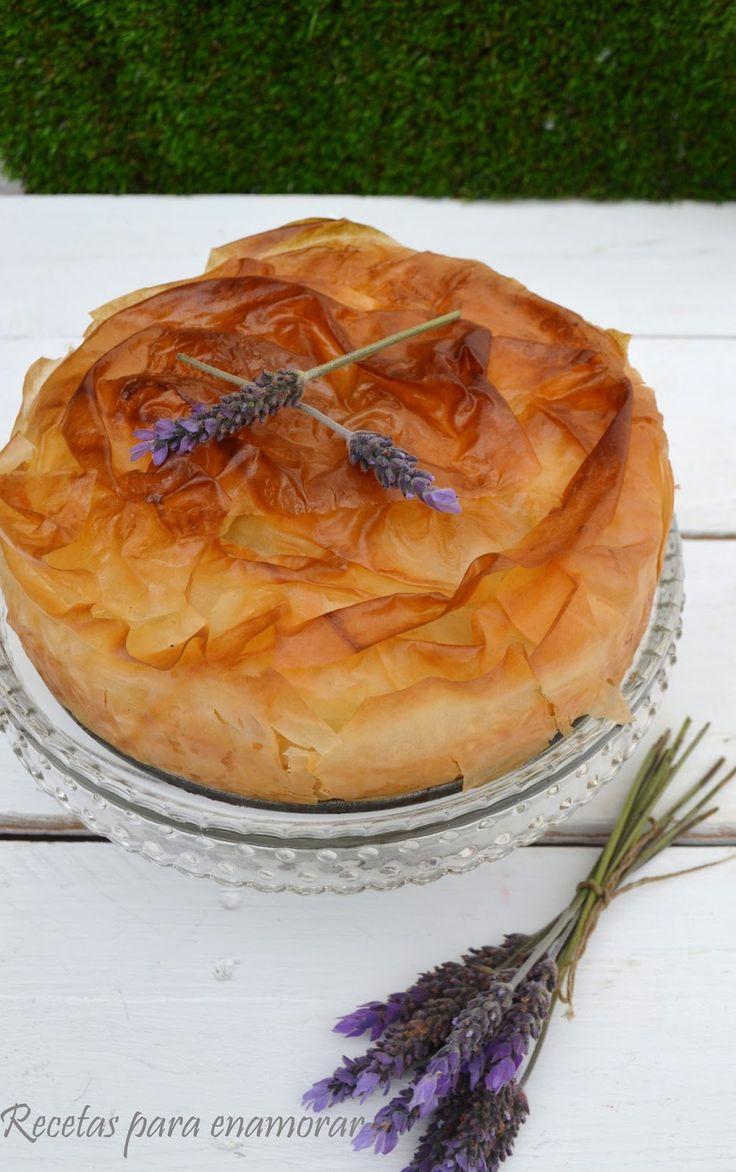 Que pastel más bueno y fácil de hacer, el relleno tiene un sabor delicioso y el exterior crujiente es una apuesta segura, puedes elegir otr...