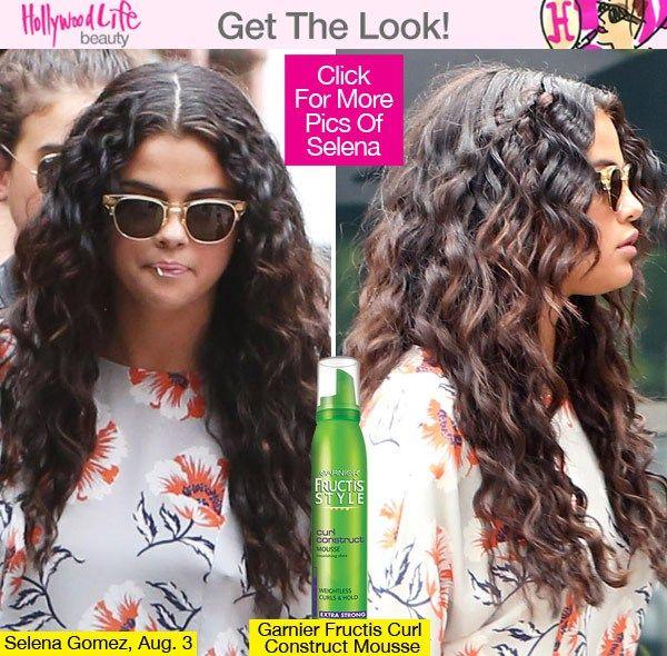 Selena Gomez Rocks Super Curly Hair — Get Her SpiralCurls