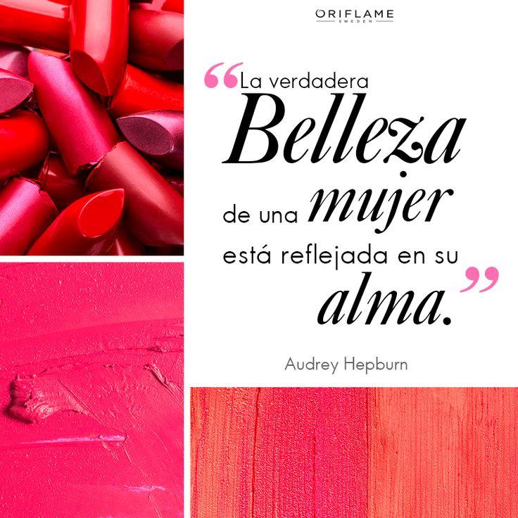 #OriQuote ¡Porque la #BellezaTotal comienza en tu interior y se refleja en tu mirada!