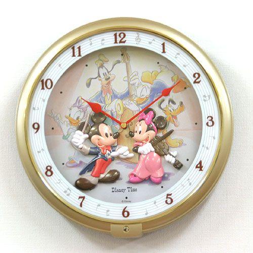SEIKO セイコー ディズニーキャラクター掛け時計ミッキーマウス【fw521g】
