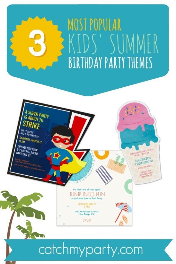 We Ve Teamed Up With Evite To Share 3 Of Our Most Popular Kids
