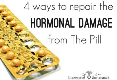 how to repair the hormonal damage from The Pill. A MUST READ for any woman who…