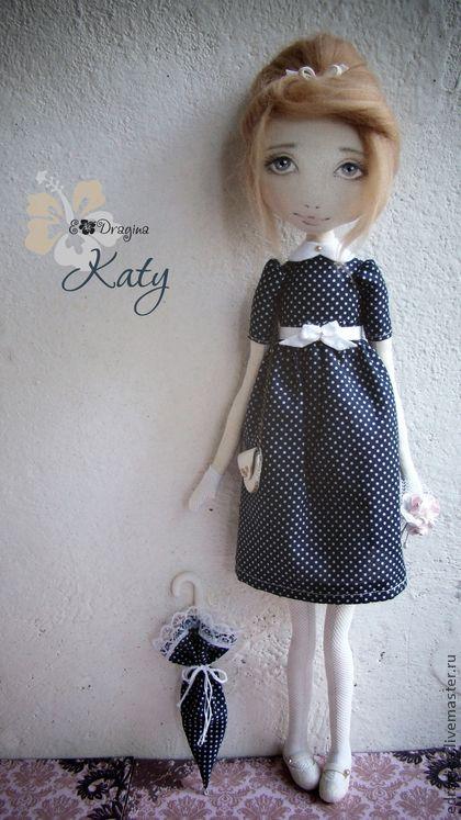 Коллекционные куклы ручной работы. Ярмарка Мастеров - ручная работа Katy. Handmade.