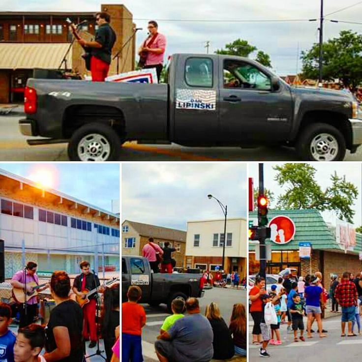 arthurliceaga... Tomorrow's Alliance had a great time at the #PatrioticParade in Chicago's Garfield Ridge neighborhood! Thank you again #CongressmanLipinski for having us on your float. We're always happy to perform at your events. Afterwards we played at Wentworth Park/Kennedy High School. The whole evening was a blast!