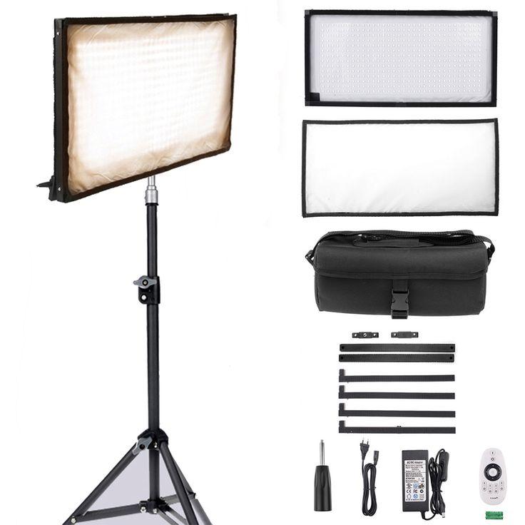 Capsaver видео гибкие рулонные фотографии Освещение FL 3060A 3200 К 5500 К LED заполнить свет Панель с Пульты дистанционного управления купить на AliExpress