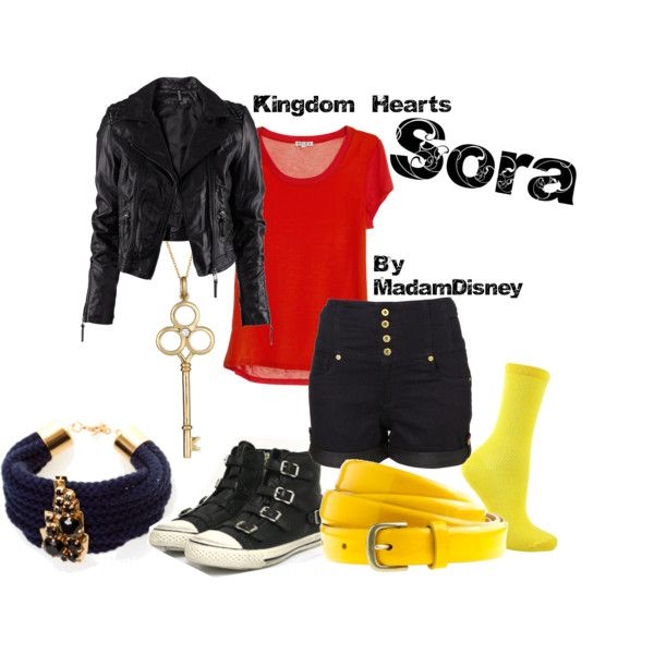 Sora from Kingdom Hearts. Love the jacket and shoes!!