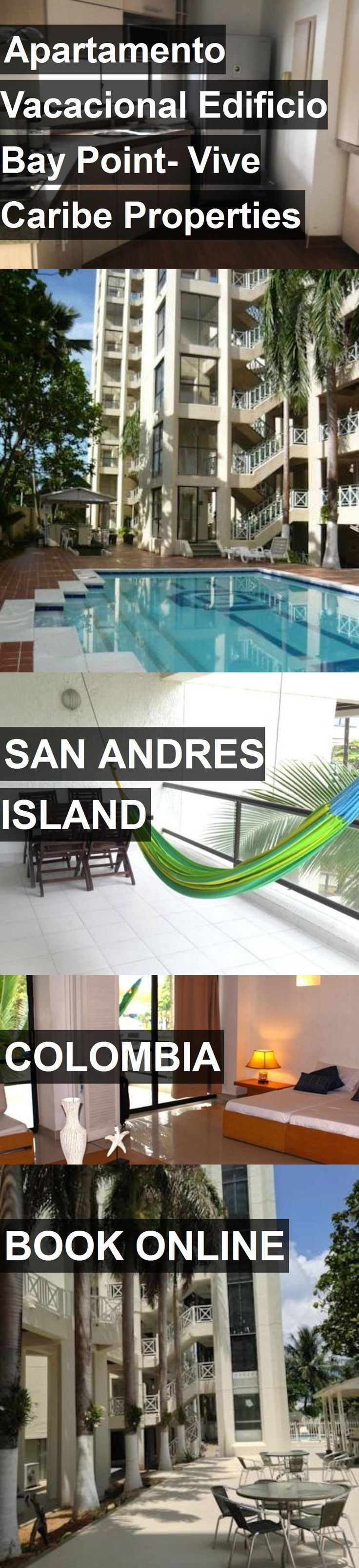 Hotel Apartamento Vacacional Edificio Bay Point- Vive Caribe Properties in San Andres Island, Colombia. For more information, photos, reviews and best prices please follow the link. #Colombia #SanAndresIsland #travel #vacation #hotel
