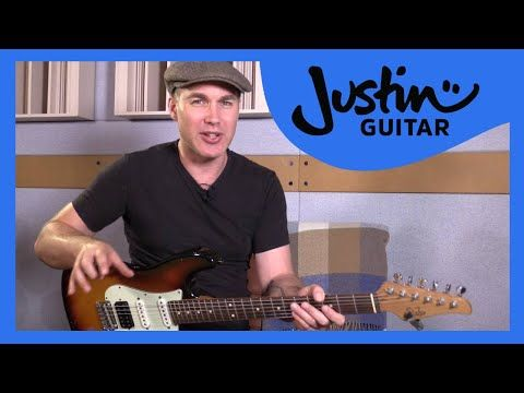 5 Blues Licks In Pattern 3 Minor Pentatonic Blues Scale: Blues Lead Guitar Lesson Tutorial s2p3 - YouTube