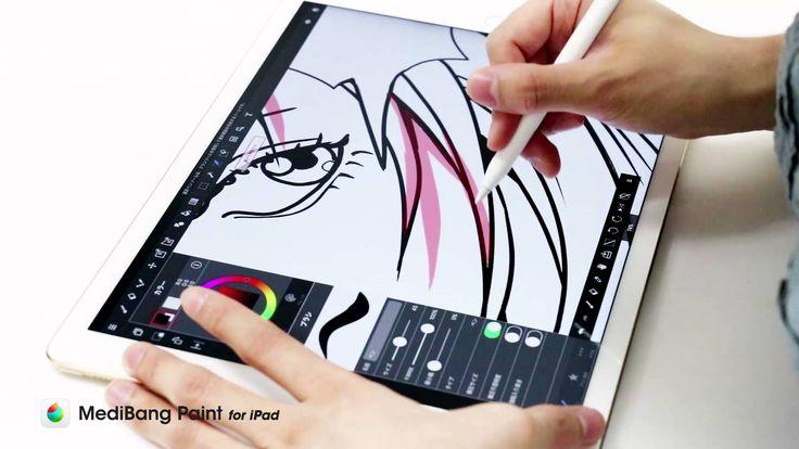 MediBang for iPad 支援 iPad Pro、Apple Pencil 漫畫篇