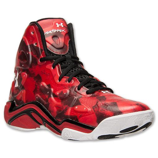 under armour shoes red. men\u0027s under armour micro g anatomix spawn 2 basketball shoes - 1248856 601 | finish line nice kicks pinterest spawn, armours and latest styles red l