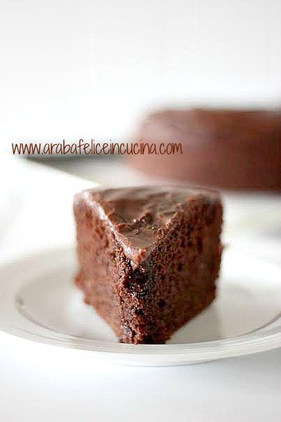 Arabafelice in cucina!: Torta al cioccolato e latte condensato (senza uova...