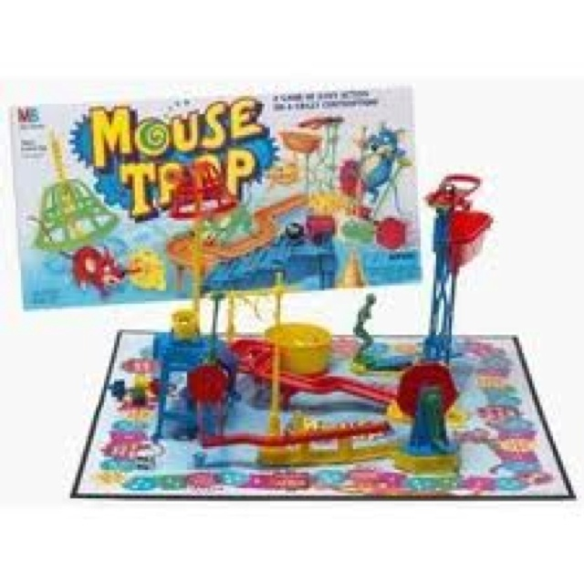Great idea, Mousetrap game creators. Bad execution, game makers. Never would hook together right. I wanted it to BAD.