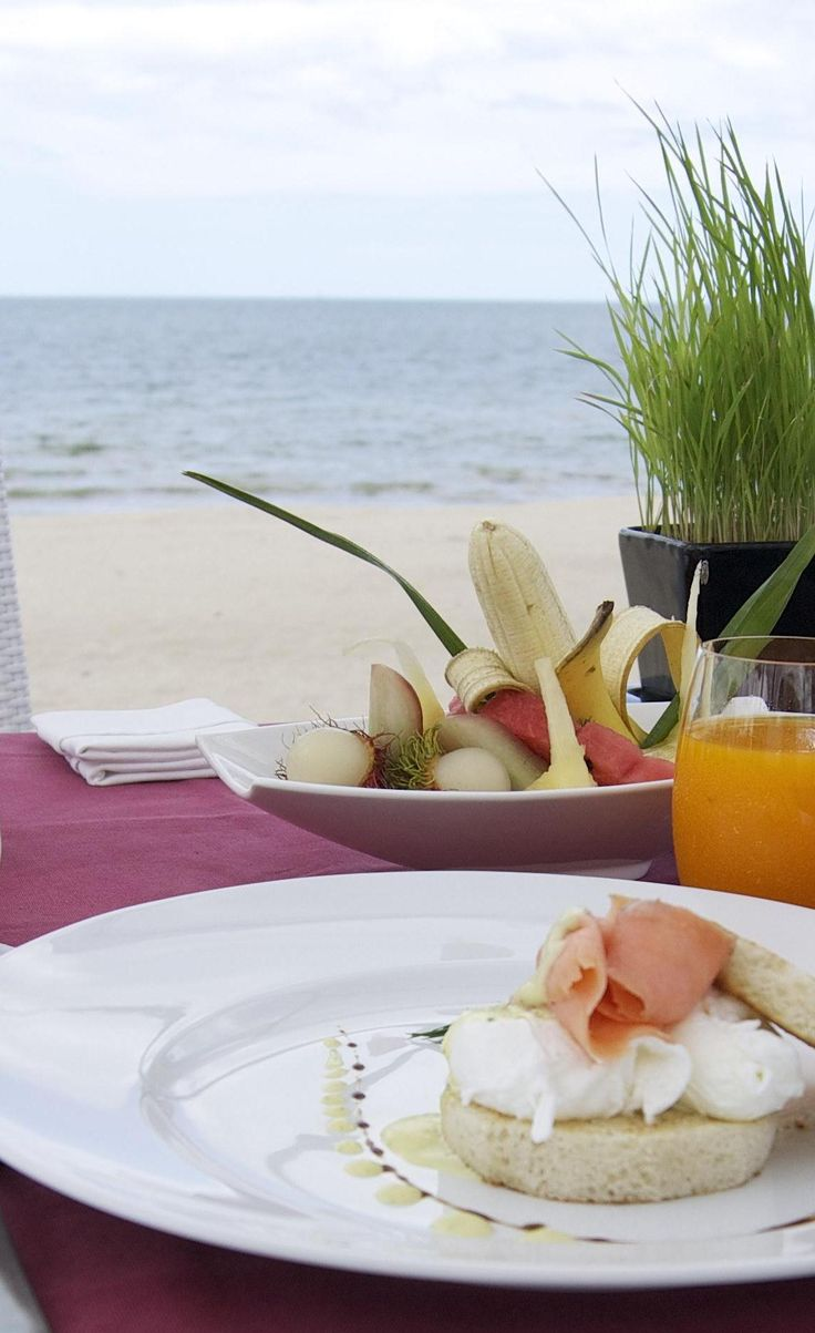 Breakfast at Aava Resort & Spa in Khanom, Thailand. Couldn't ask for anything more! #delicious