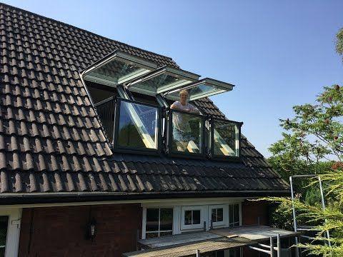 (53) Installing Triple Velux Cabrio Balcony Windows ...